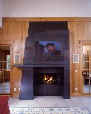 Evans Home Fireplace