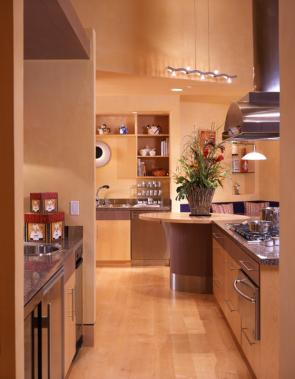 Angles & Curves Residence Kitchen
