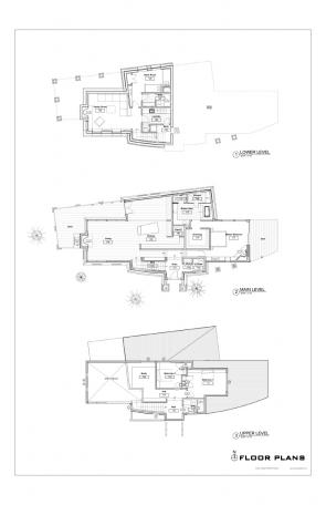 Telluride House Floorplans