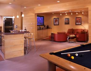 Angles & Curves Residence Game Room