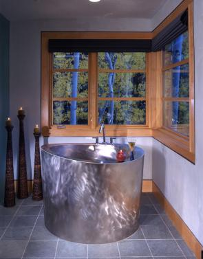 Schell Residence Bath and Tub